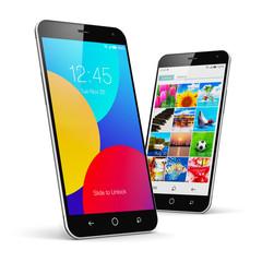 Modern touchscreen smartphones