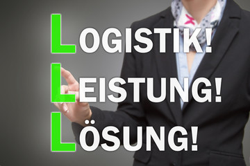 Anzeige - Logistik! - Leistung! - Lösung!