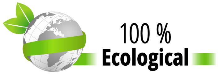100 % Ecological