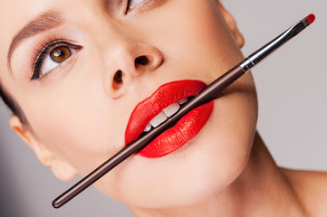 Cosmetics artistry.