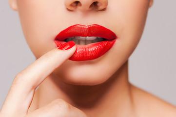 Passion lips.