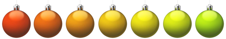 Boules de Noël or