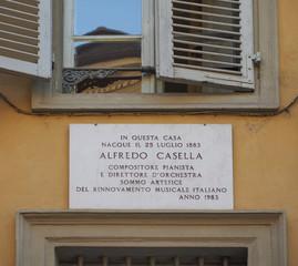 Alfredo Casella house