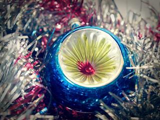 Retro look Christmas decoration