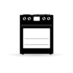 stove icon vector illustration