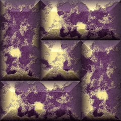 Gilded grunge pannels tileable pattern