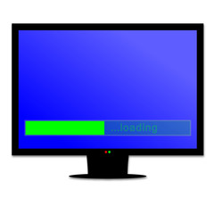 Online content loading on smart screen