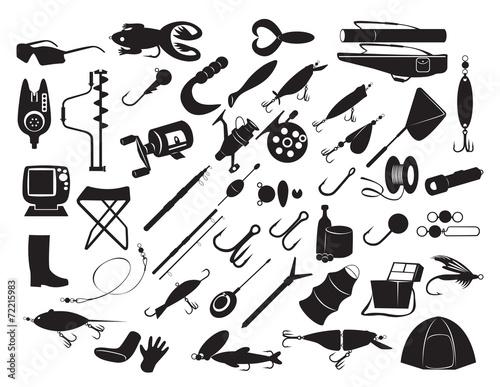 equipment for fishing - 72215983