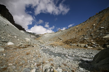 Morena del ghiacciaio