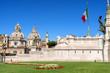 Roma, giardini e lato del Vittoriano
