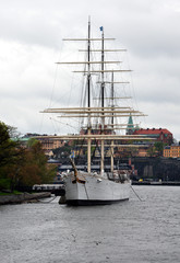 Old sailing ship, Stockholm, Sweden, Europe