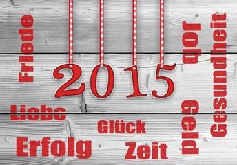 Neujahrsgruss-Silvester 2015