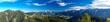 canvas print picture - Panorama Richtung Dachstein