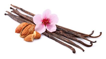 Vanilla with almonds