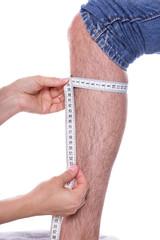Bein vermessen