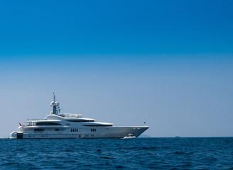 Vast Seascape Modern Vessel