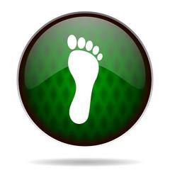 foot green internet icon