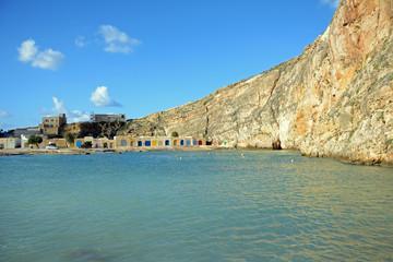 Il-Qawra Inland Sea, Gozo, Malta