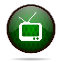 tv green internet icon