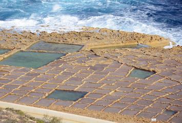 Salzpfannen, Gozo (Malta)