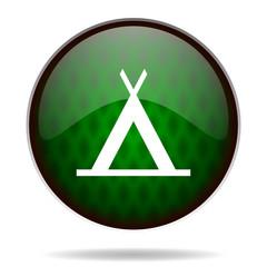 camp green internet icon