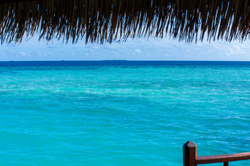 Rest in Paradise - Malediven - Hütte am Meer