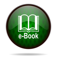 book green internet icon