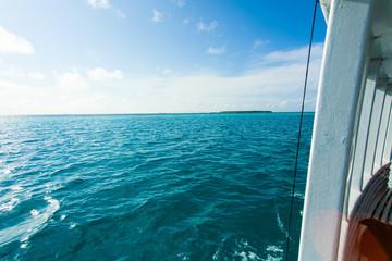 Rest in Paradise - Malediven - Bootsfahrt im türkisen Meer