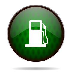 petrol green internet icon