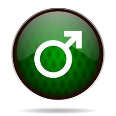 male green internet icon
