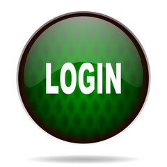 login green internet icon