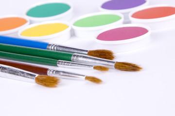 Wasserfarben Pinsel