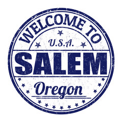 Welcome to Salem stamp