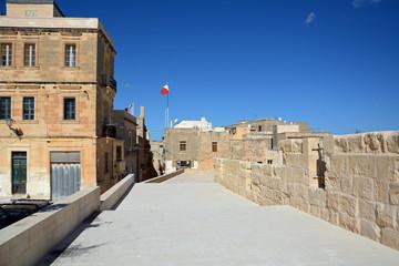 Festungsmauer von Birgu (Vittoriosa), Malta
