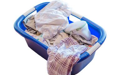 Wäschekorb, Schmutzige Wäsche