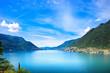 Como Lake landscape. Cernobbio village view, Italy - 72223703