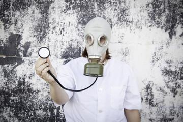 Mask stethoscope Girl