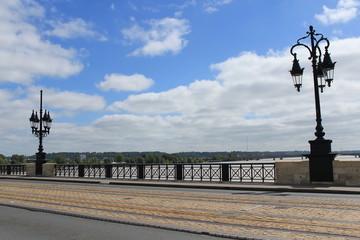 Bordeaux, France - août 2014, circulation douce