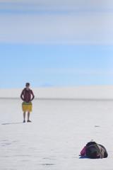 photo shoot in Salar de Uyuni