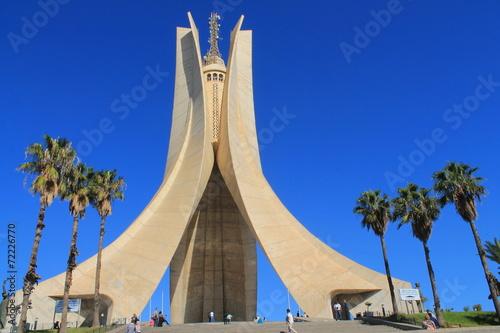 Aluminium Algerije Mémorial du Martyr à Alger, Algérie
