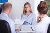 Begining of the job interview - 72226946