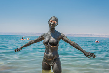 Dead Sea mud body care treatment Jordan