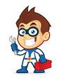 Superhero holding tools - 72227302