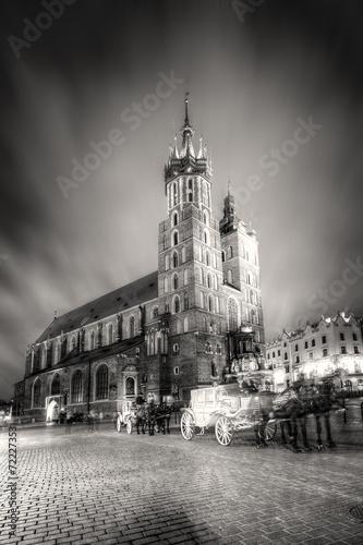 Kościół Mariacki w Krakowie, Polska. - 72227353