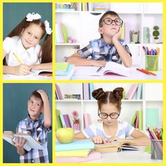 School collage