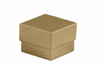 Small Gold Gift Box