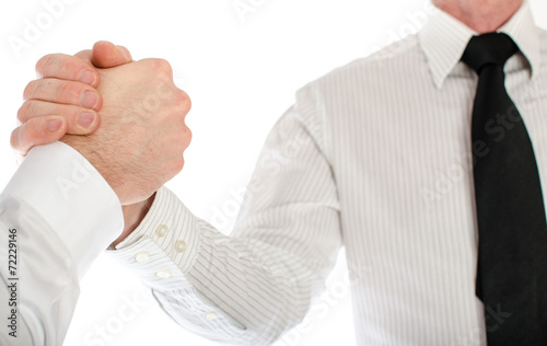 canvas print picture Friendly business handshake