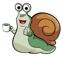 Snail Mascot