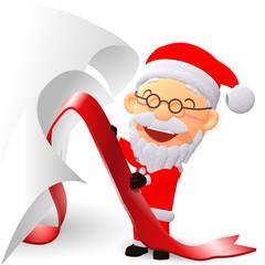 サンタクロース クリスマス プレゼント オープン イラスト
