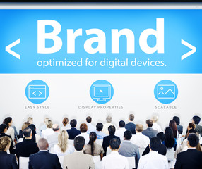 Business People Brand Seminar Concept